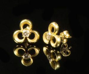 gouden-oorknoppen